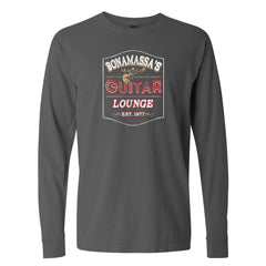 Bonamassa's Lounge Comfort Colors Long Sleeve T-Shirt (Unisex) - Pepper