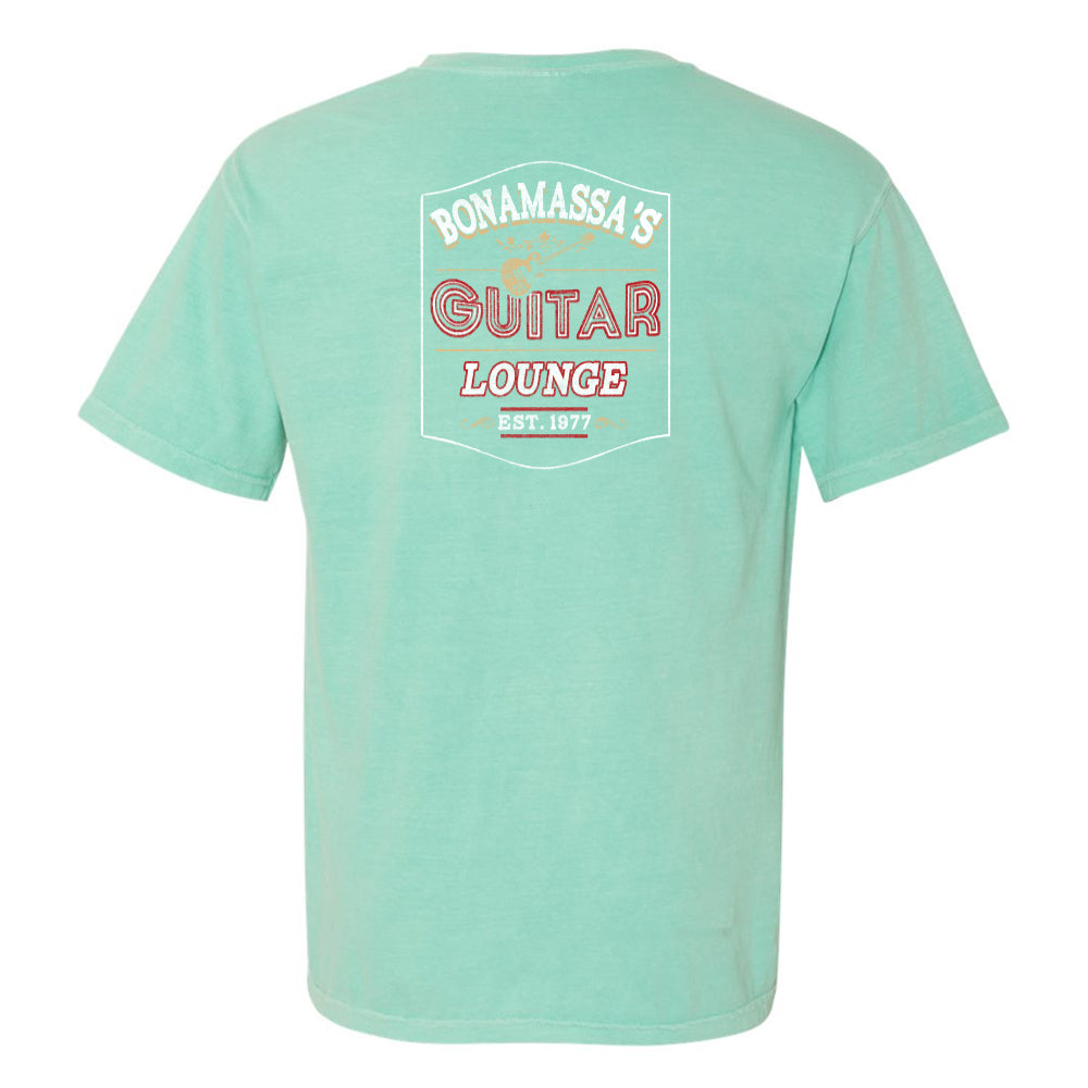 Bonamassa's Lounge Comfort Colors Pocket T-Shirt (Unisex) - Mint