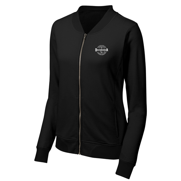 Authentic Blues Lightweight Bomber (Women) - Black
