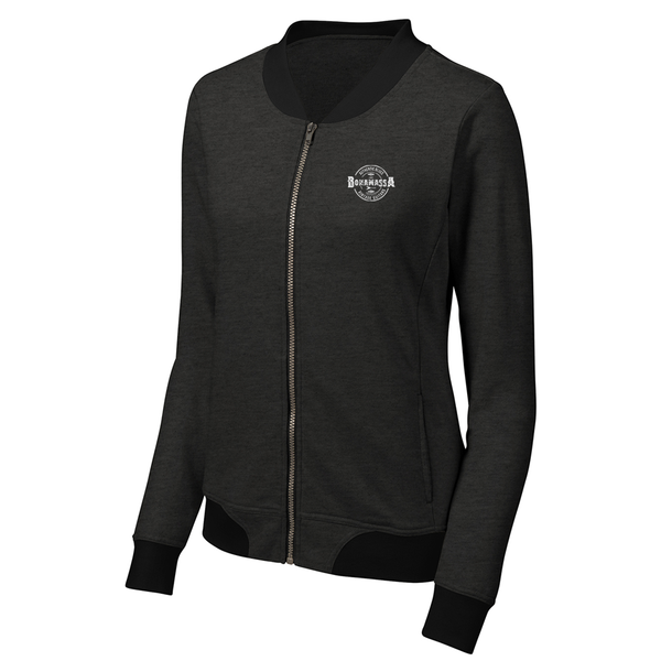 Authentic Blues Lightweight Bomber (Women) - Heather Black