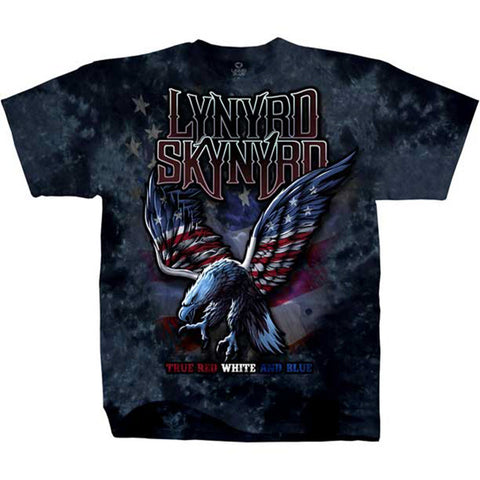 Lynyrd Skynyrd - True, Red, White & Blue T-Shirt (Men)
