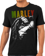 Bob Marley - Singing T-Shirt (Unisex)