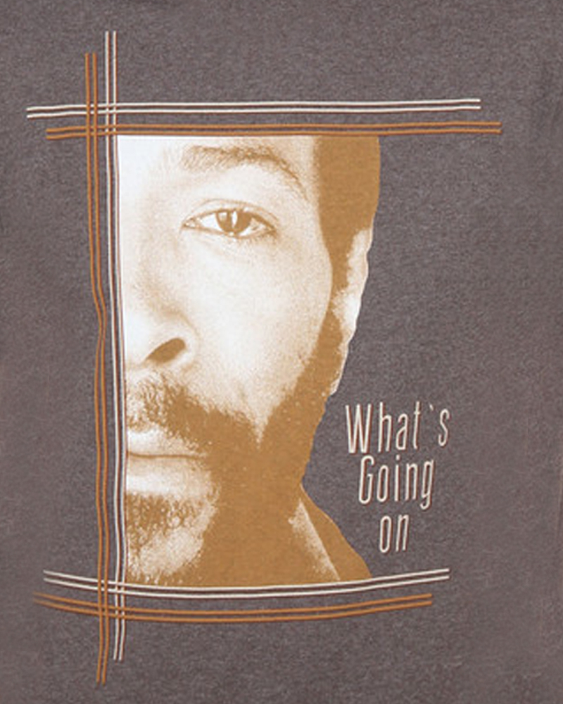 Grey Marvin Gaye T Shirt