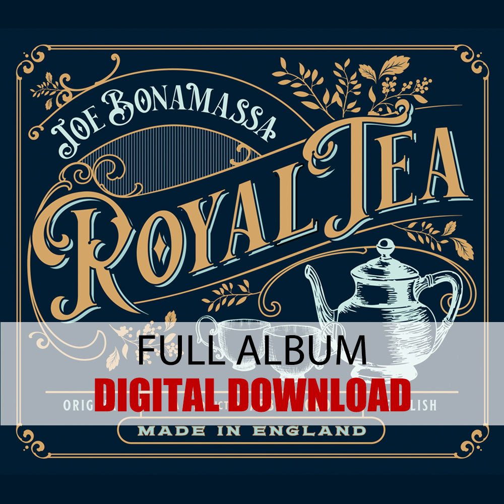 Joe Bonamassa: Royal Tea (Digital Album) (Released: 2020) ***PRE-ORDER***