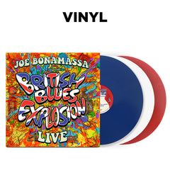 Joe Bonamassa: British Blues Explosion Live (3 LP Vinyl Set) (Released: 2018)