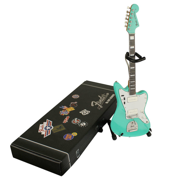 "Joe Bonamassa Signature ""1966 Fender Jazzmaster Sea Foam Green"" Mini Guitar Replica Collectible"
