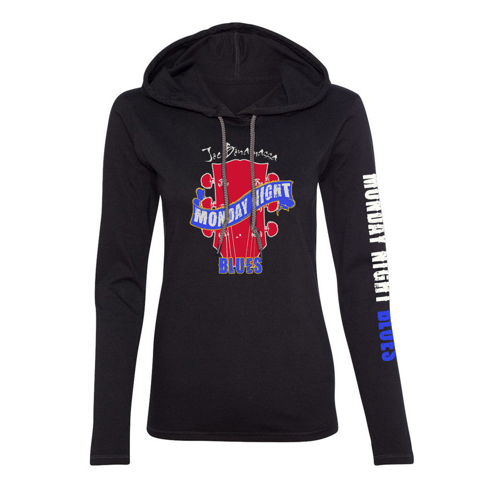 Monday Night Blues Hooded Long Sleeve (Women)