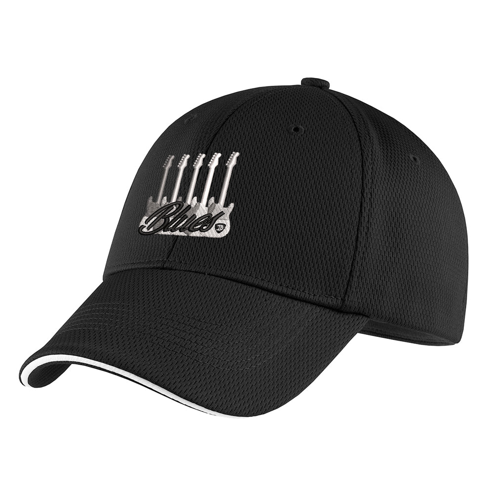 Monochromatic Blues Nike Dri-FIT Mesh Flex Sandwich Hat - Black