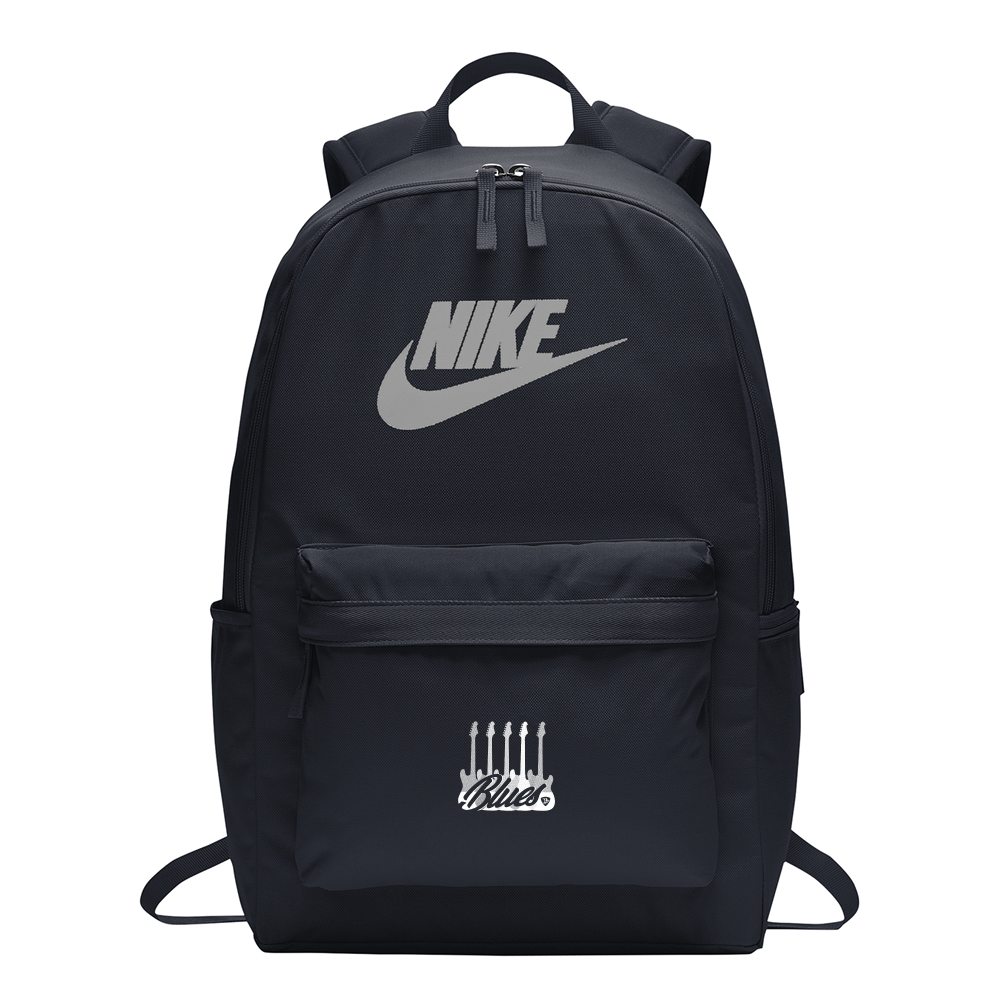 Monochromatic Blues Nike Heritage 2.0 Backpack - Obsidian
