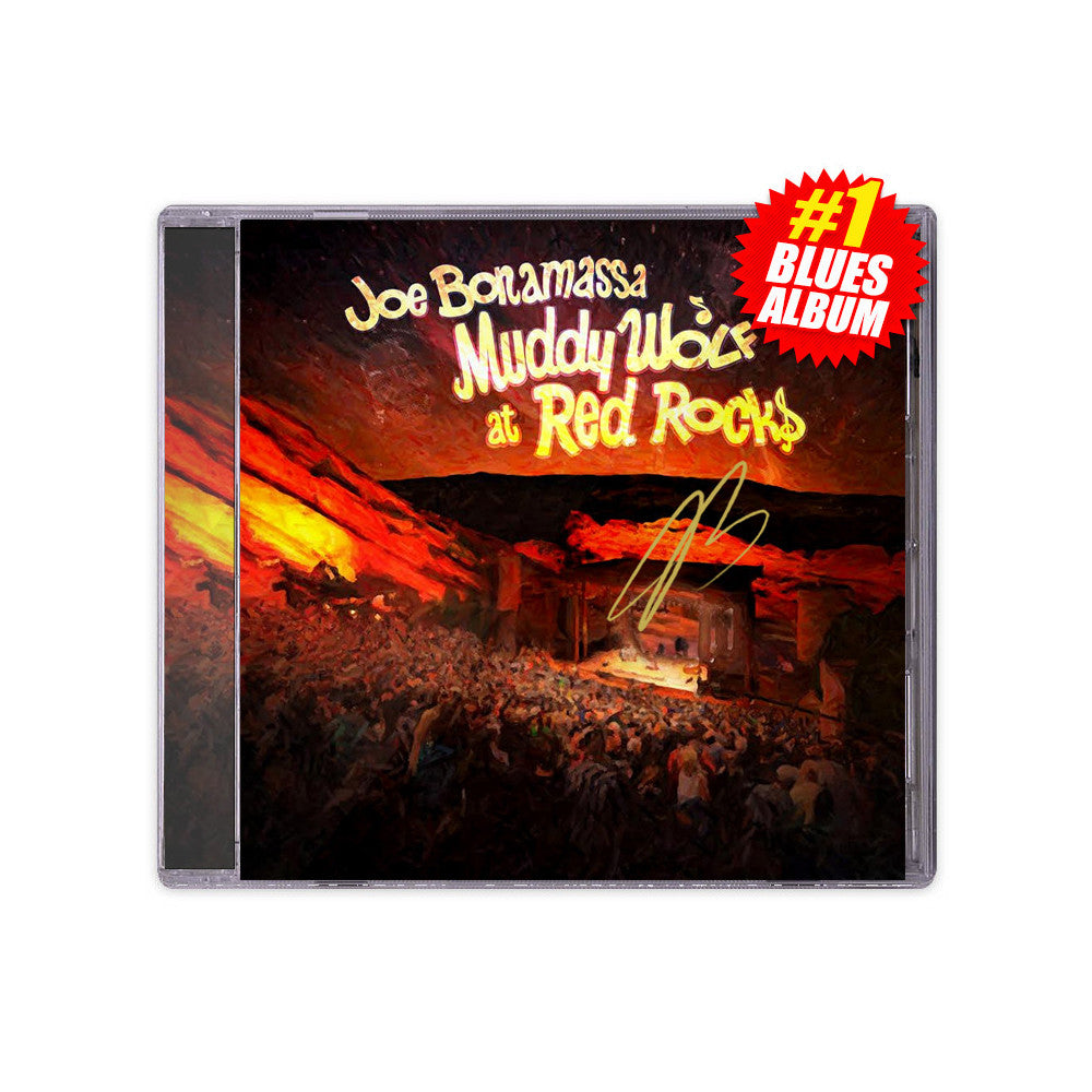 Joe Bonamassa: Muddy Wolf at Red Rocks (CD) (Released: 2015) - Hand-Signed