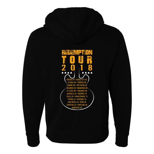 2018 N. American Redemption Tour Zip-Up Hoodie (Unisex)