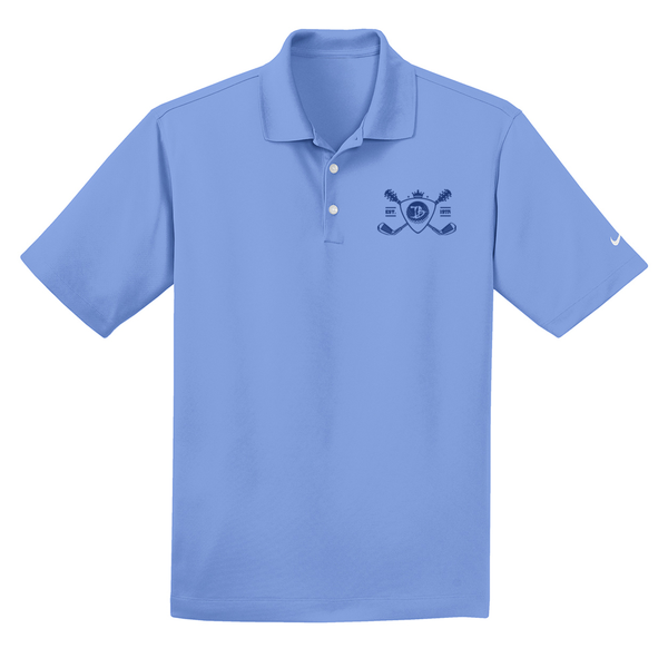 Blues Bogey Nike Dri-FIT Micro Pique Polo (Men) - Valor Blue