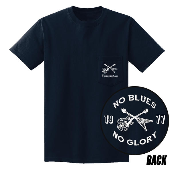 No Blues, No Glory Pocket T-Shirt (Unisex) - Navy