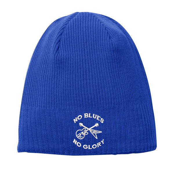 No Blues, No Glory New Era Knit Beanie - Royal