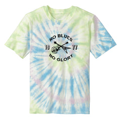 No Blues, No Glory Tie Dye T-Shirt (Unisex) -Watercolors