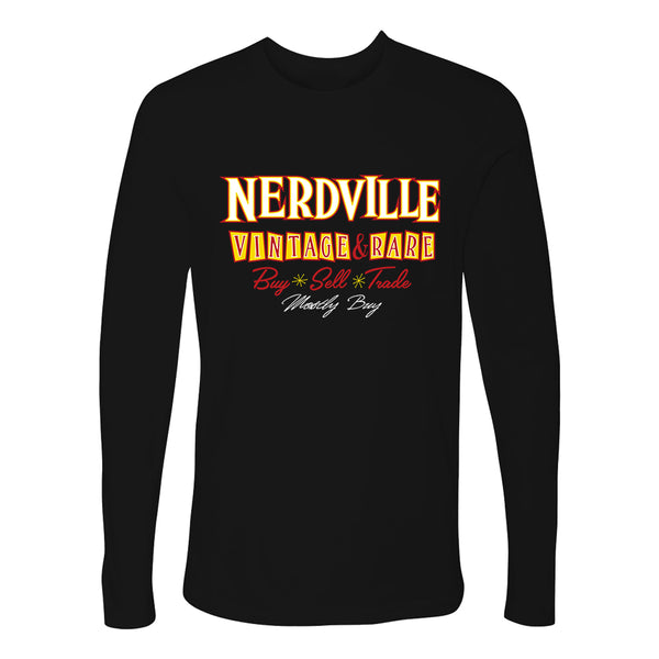 Nerdville Vintage & Rare Long Sleeve (Men)