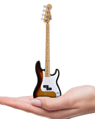 Axe Heaven Miniature Classic Sunburst Fender Precision Bass