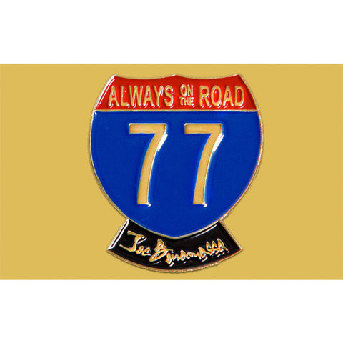 2014 Always On The Road Gold Tour Pin – Only 500 Made