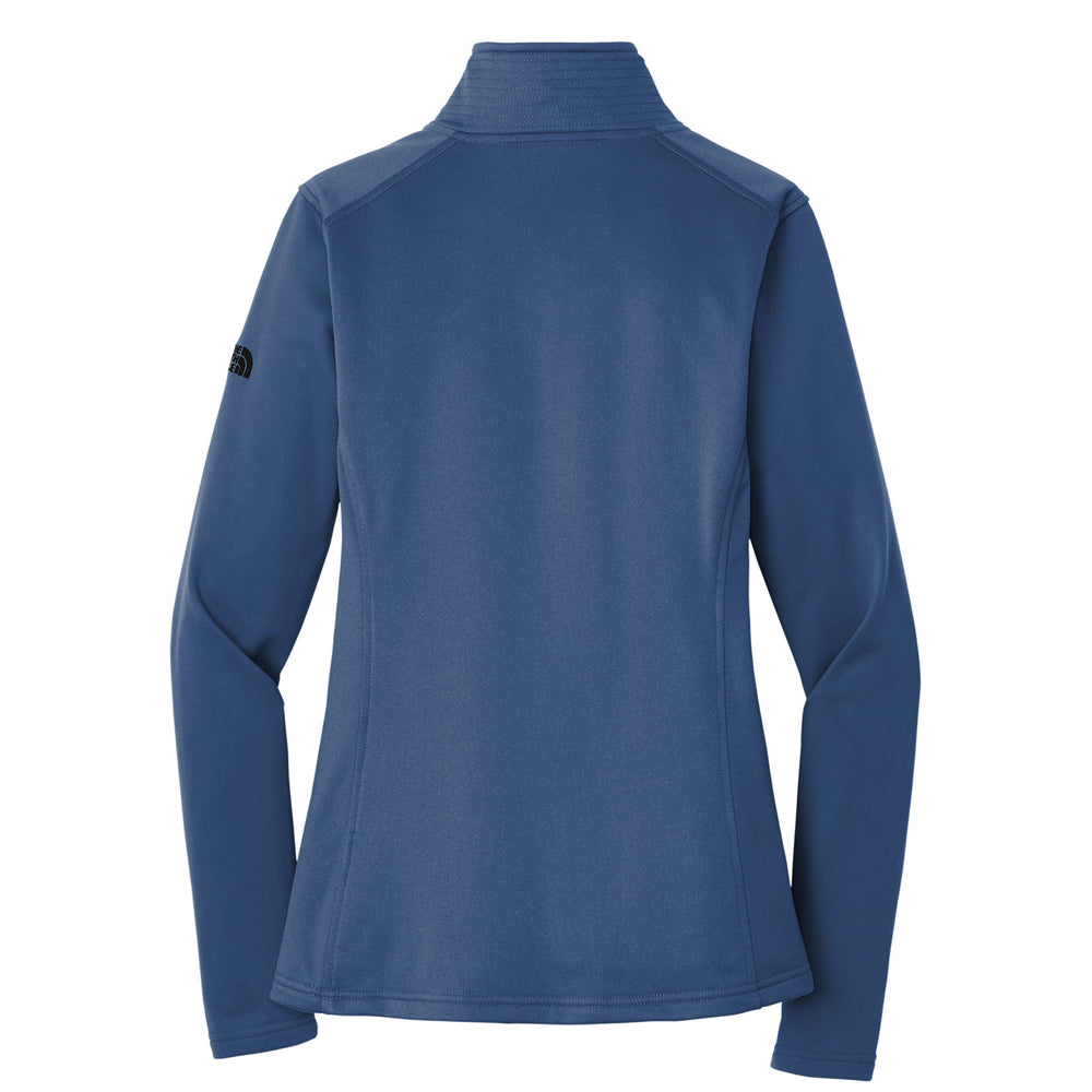Bonamassa Suburst - North Face Tech 1/4 Zip Fleece (Women) - Blue Wing