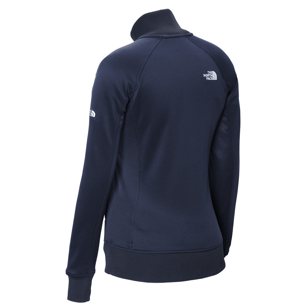 Bonamassa Sunburst - The North Face Tech Full-Zip Fleece Jacket (Women) - Navy