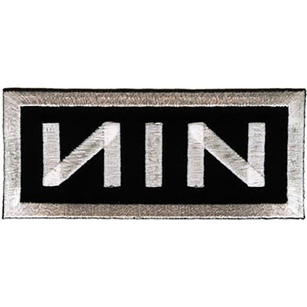 Nine Inch Nails Logo Patch