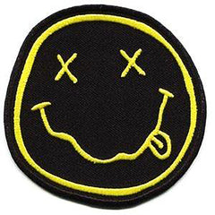 Nirvana Smiley Face Patch