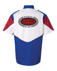 Official Bonamassa Blues Racing Shirt (Men) - Royal Blue