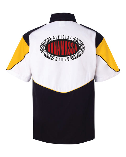 Official Bonamassa Blues Racing Shirt (Men) - Gold