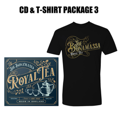 Royal Tea CD & T-Shirt Package #3 (Unisex)