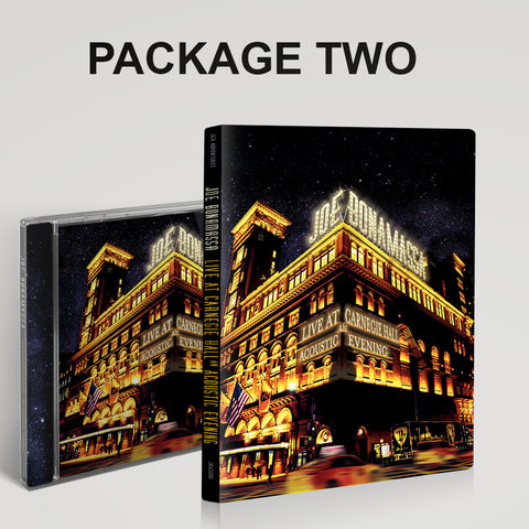 Live at Carnegie Hall - An Acoustic Evening CD & DVD Package ***PRE-ORDER***