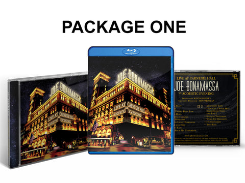 Live at Carnegie Hall - An Acoustic Evening CD & Blu-ray Package ***PRE-ORDER***