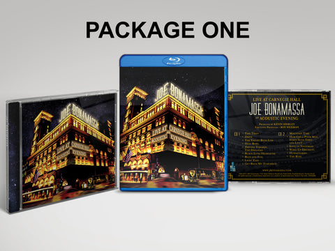 Live at Carnegie Hall - An Acoustic Evening CD & Blu-ray Package