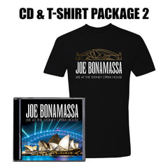 Live at the Sydney Opera House CD & T-Shirt Package Two