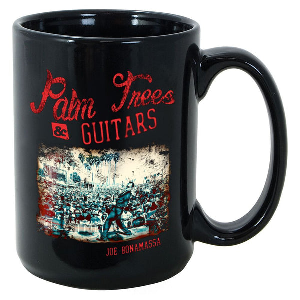 Palm Trees & Guitars Mug