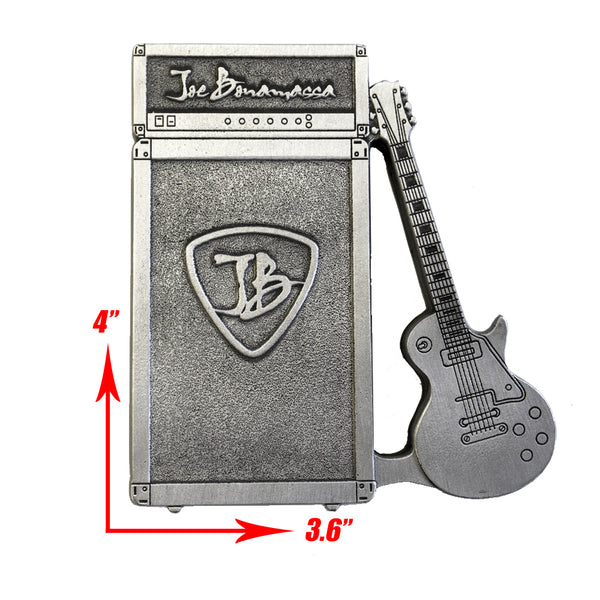 Guitar & Amp Paper Weight - Antique Silver