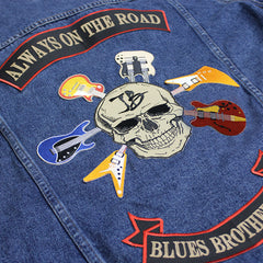 Blues Brotherhood 3 Piece Sew On Patch