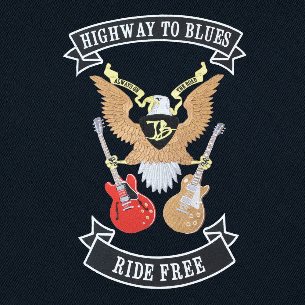 Highway to Blues 3 Piece Sew On Patch
