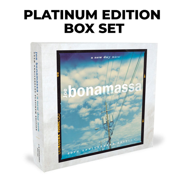 Joe Bonamassa: A New Day Now (Platinum Edition Box Set) (Released: 2020) ***PRE-ORDER***