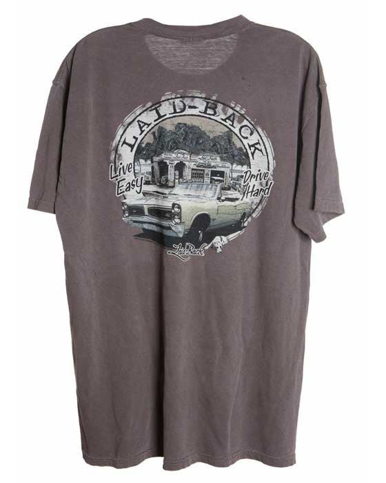 chocolate classic car shirt for men