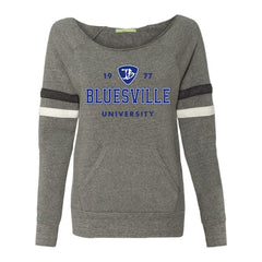 Bluesville University Logo Sweatshirt (Women)