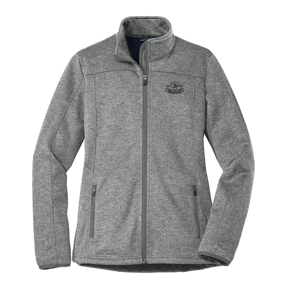 Bonamassa Pick Emblem Eddie Bauer StormRepel Soft Shell Jacket (Women) - Grey