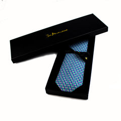 Guitar Pick - Teal/ Blue Tie