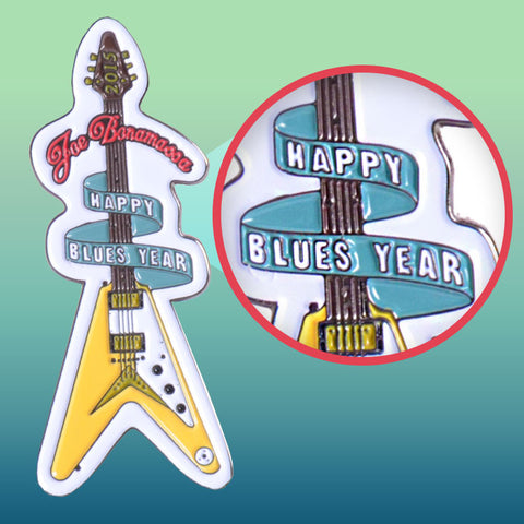 "2015 ""Happy Blues Year"" Pin"