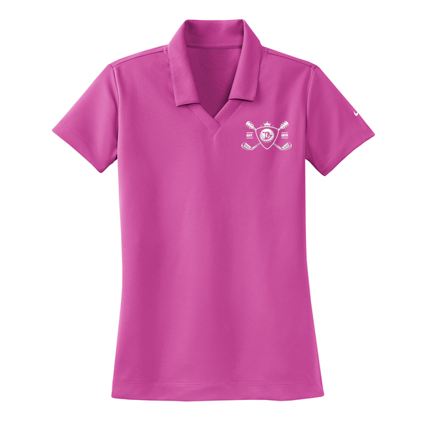 Blues Bogey Nike Dri-FIT Micro Pique Polo (Women) - Fusion Pink
