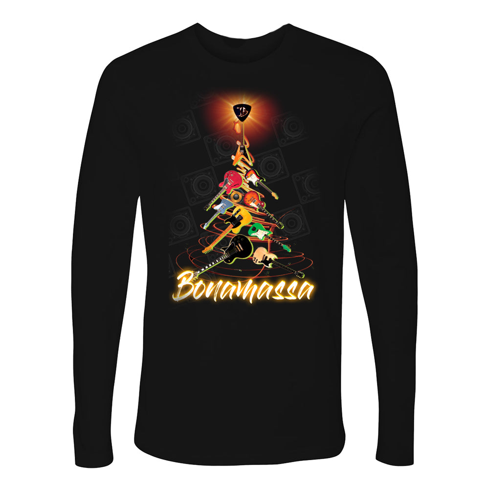 Guitar X-Mas Tree Long Sleeve (Men)