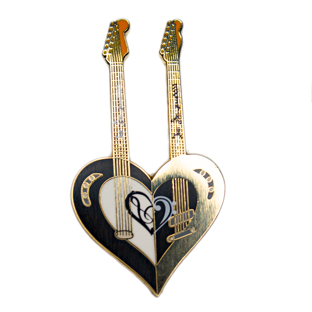 Guitar Love Pin - Limited Edition (50 pieces)