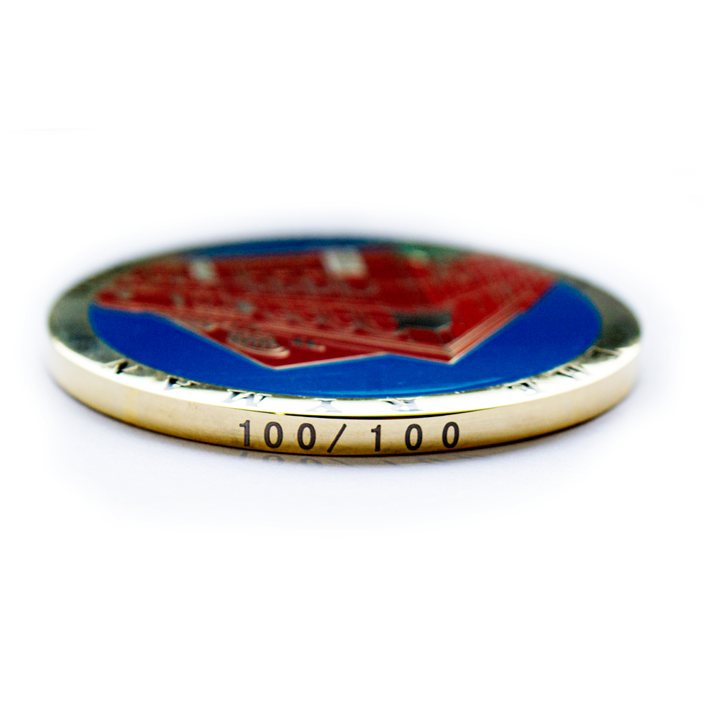 Royal Tea Challenge Coin - Limited Edition (100 pieces)