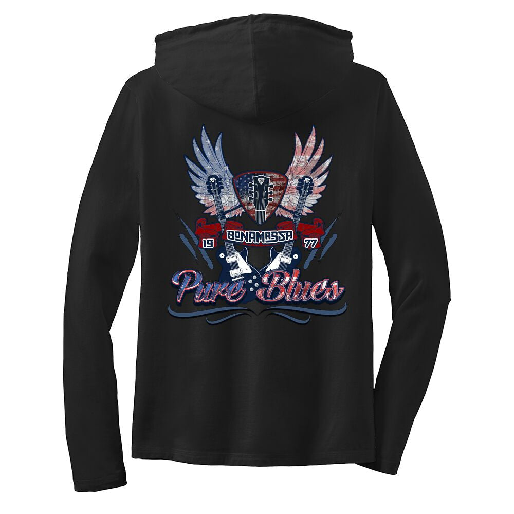 Pure Blues Hooded Long Sleeve (Women)