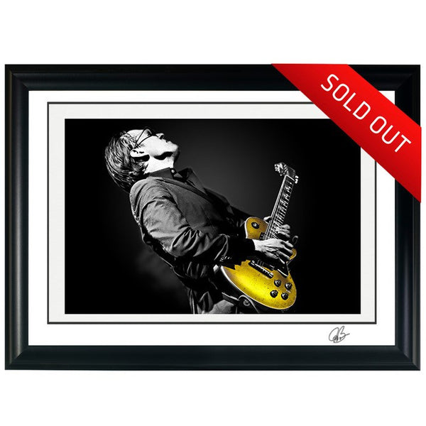 "#17 ""Pure Gold"" JOE BONAMASSA Collectible Litho (FRAMED - USA ONLY)"