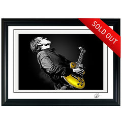 "#17 ""PURE GOLD"" JOE BONAMASSA Collectible Litho"